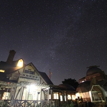 冬の澄んだ空気に瞬く星たち
