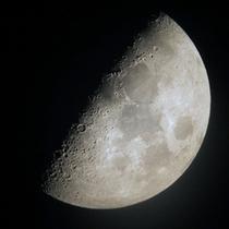 天文台で星空観測