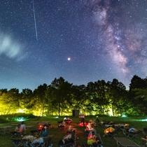 ホンモノの満天の星空を、寝転んで「自由に・安全に・心ゆくまで」楽しめる星見ヶ原。