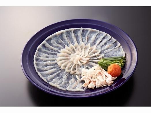 ふく会席★新鮮なふぐ尽くし!!ふぐ刺、てっちり鍋で大満足♪
