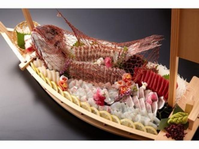 【事前予約制】鯛の舟造り(5日前までにお申込ください)
