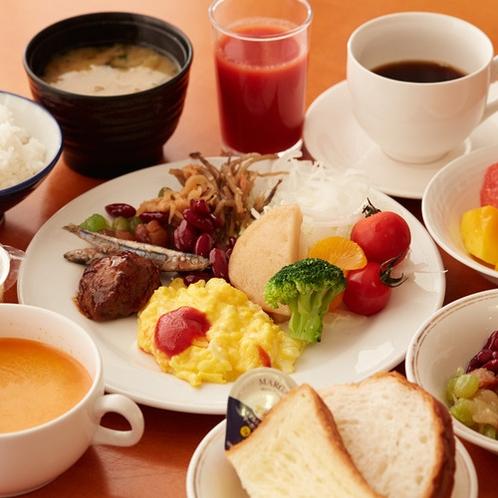 朝食バイキング(一例)
