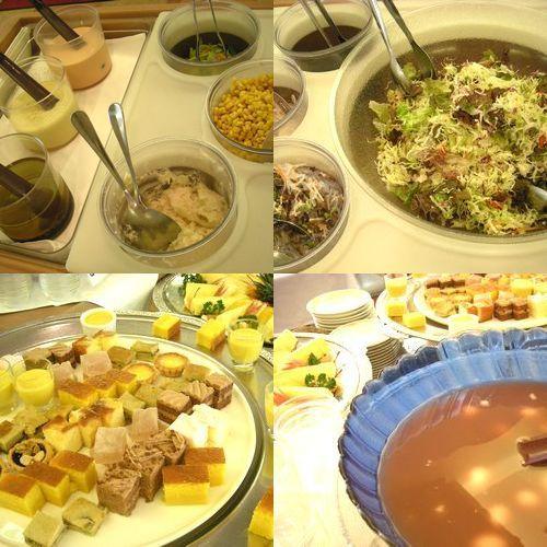 四季【昼の部】サラダ&フルール&デザート