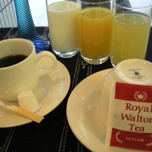 朝食【和洋バイキング】ドリンク