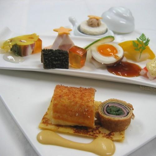 プリフィックスディナー【おすすめ前菜】