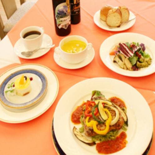 洋食セミコース(一例)