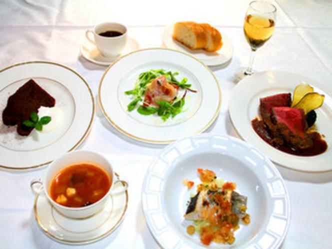 フルコース〜お魚とお肉2品〜