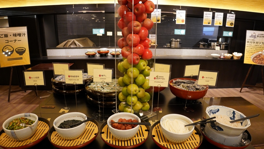 朝食バイキング~青森の郷土料理を盛り込んだ和洋バイキング