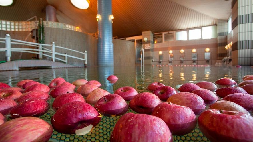 大浴場『苹果の湯』リンゴ