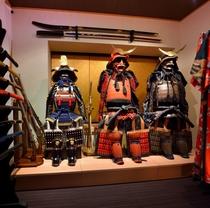 【甲冑の倉】貴方もこれで武士(モノノフ)に!?さまざまな武具や衣装を楽しめる