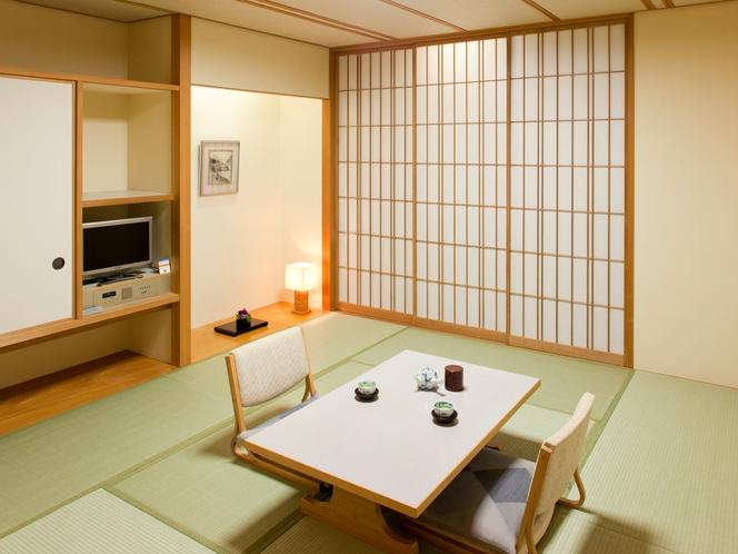 【和室】日本らしさを感じられる、落ち着きある空間です。