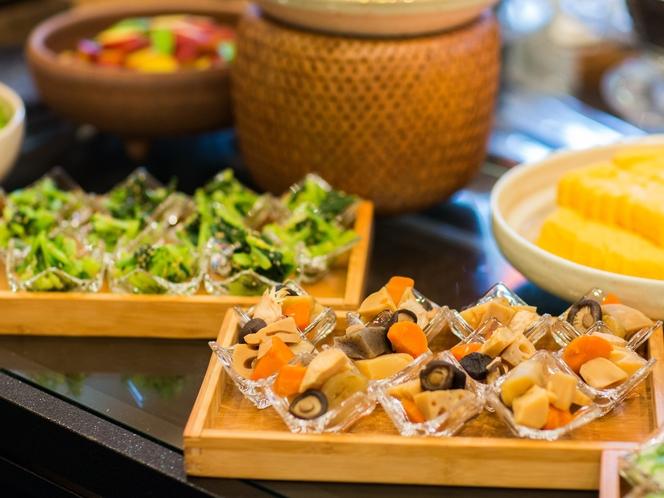 【朝食ブッフェ】 品数は約120種類をご用意!