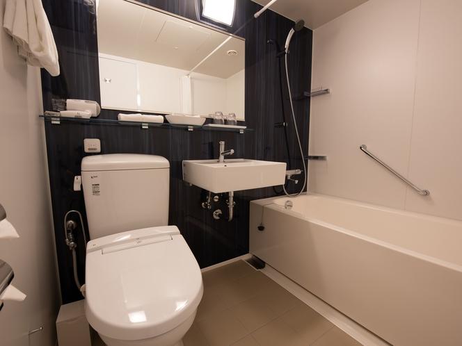 【スーペリアウエストツイン・バスルーム】新しくできた新館のバスルームになります。