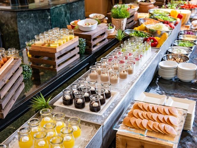 【朝食ブッフェ】ポモドーロの朝食がパワーアップしました。