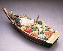 地物の舟盛