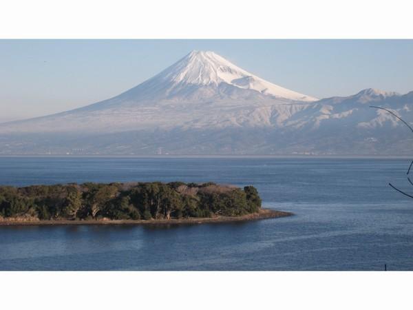 真冬の富士山