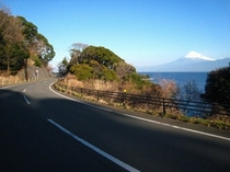 富士山も眺められる大瀬の絶景ライン