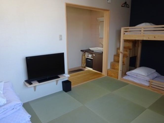 9畳タイプの居室入口側