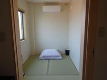 3畳タイプの居室