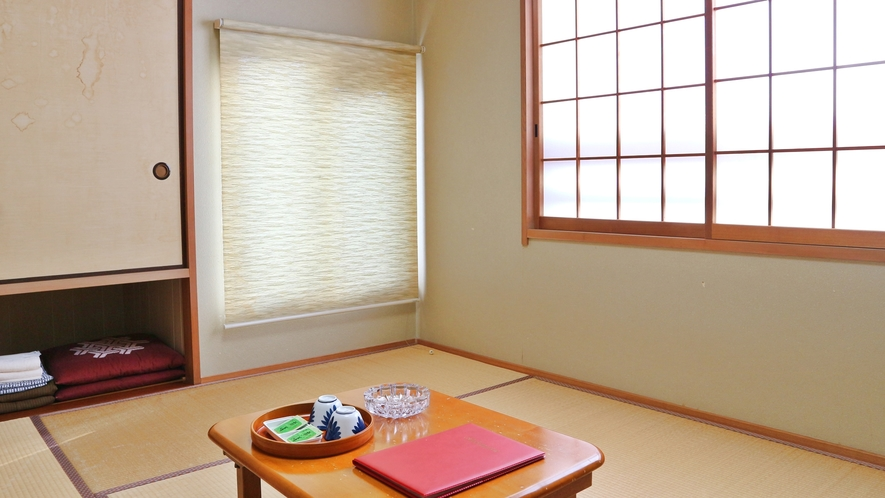 *【和室6畳】こじんまりとしていますが、のんびりお寛ぎいただけます。