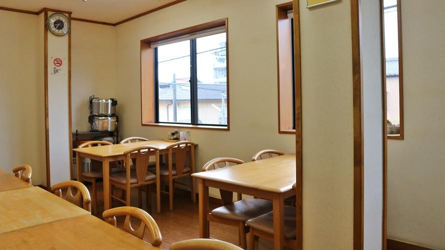 *【食堂】夕朝のお食事はこちらでご用意致します。