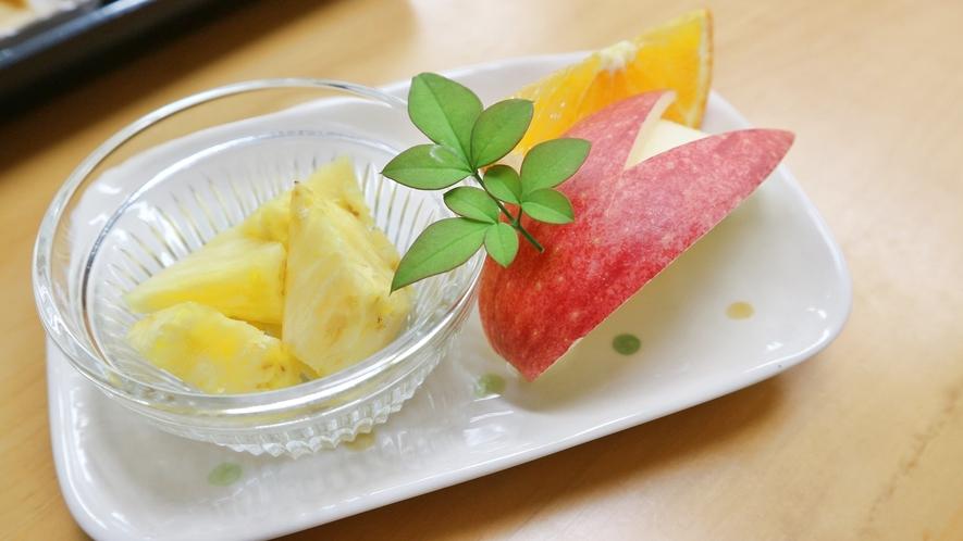 *【夕食一例】食後のデザート。