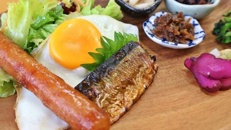 *【朝食】バランスよく、見た目も味もこだわった朝食をご用意!