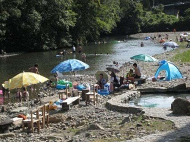 川遊び風景
