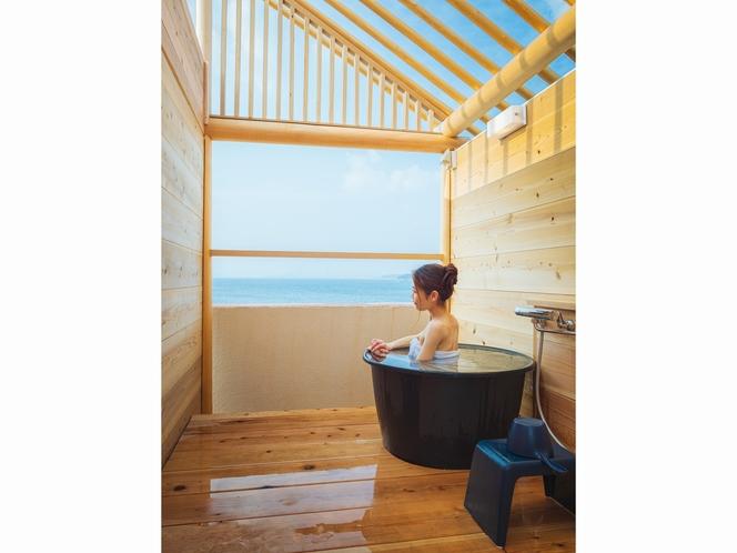 貸切露天風呂でプライベートな寛ぎを 要予約 別途利用料
