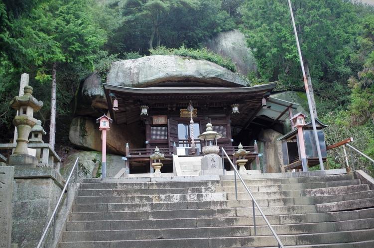弘法大師ゆかりのお寺「開龍寺」奥の院
