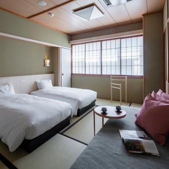 祇園の中心地!ベッドタイプ和室