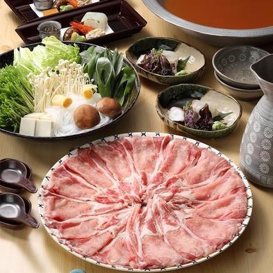 【選べる鍋プラン】京野菜たっぷり鶏豚ちゃんこor豚しゃぶ!追加料金で牛しゃぶ・鯛しゃぶ・すっぽん鍋も