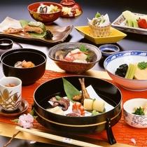 【お食事】春季限定 京料理会席11品 ※イメージ