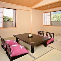【客室】最上階和室10畳+広縁 ※一例