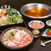 【お食事】鶏豚ちゃんこ鍋 ※イメージ