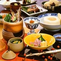 【お食事】季節の京料理会席10品 ※イメージ