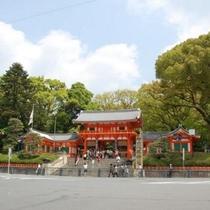 【周辺情報】八坂神社まで当館から徒歩3分
