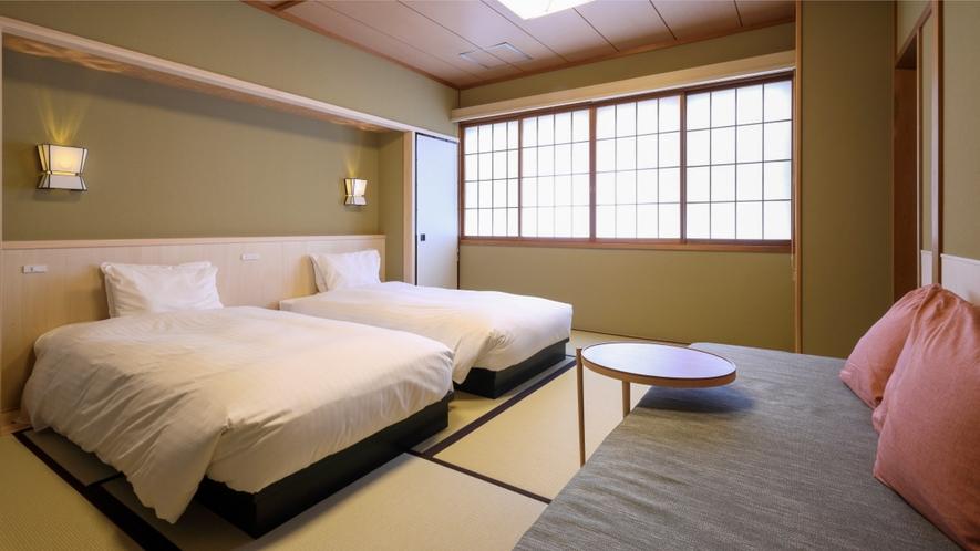 ベッドタイプ和室