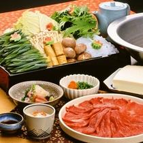 【お食事】和牛しゃぶしゃぶ ※イメージ
