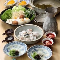 【ご夕食】河豚コース ※イメージ