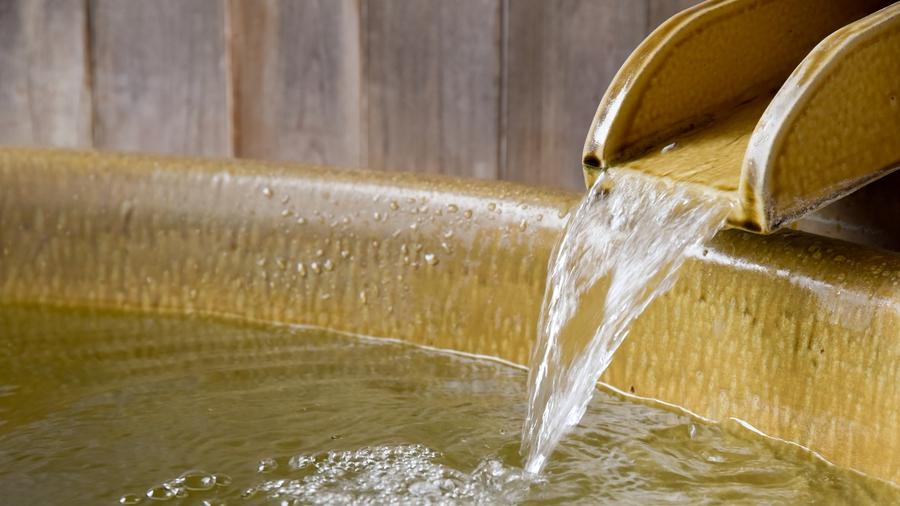 【*貸切露天風呂】湯の山のやわらかい温泉を貸切で!