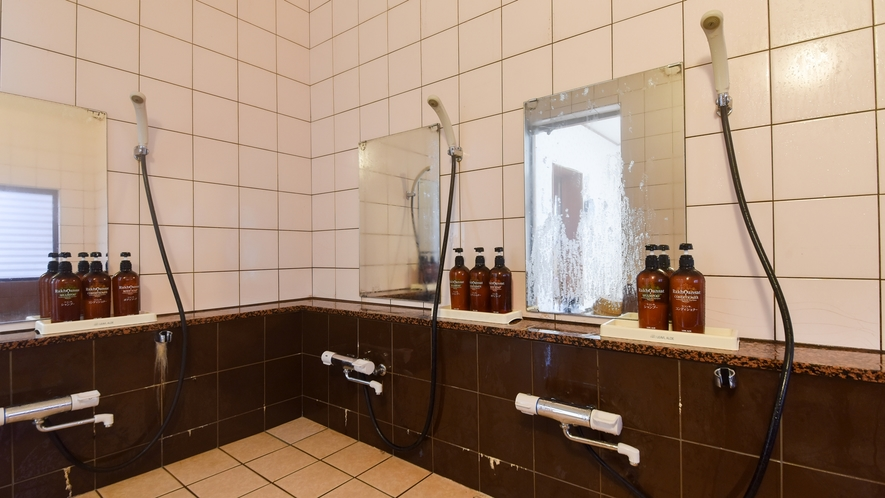 【*小浴場】洗い場