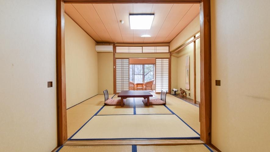 【*和室(バスなし)】懐かしい雰囲気の純和風のお部屋。