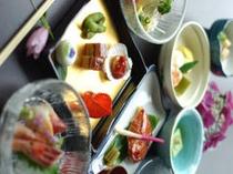 料理全体(縦)2007夏