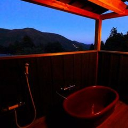 さくら亭客室【芦ノ湖】の客室露天風呂