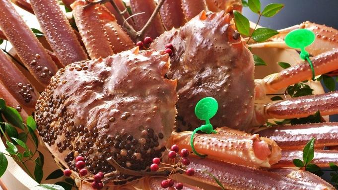 【日帰り昼食プラン】幻の間人蟹0.5杯 × 板長厳選ズワイガニ0.5杯|食べ比べコース