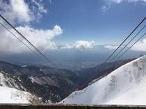 冬の駒ケ岳ロ-プウェイ