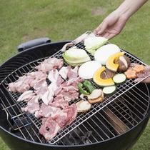 *バーベキュー/お料理一例【牛・豚・鶏・海鮮に野菜とボリューム満点】