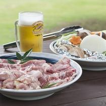 *バーベキュー/お料理一例【冷えたビールをより美味しく!】