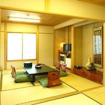 *本館和室16畳/二世代、三世代に人気の二間和室